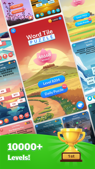 Word Tile Puzzle: Tap to Crush free Coins hack