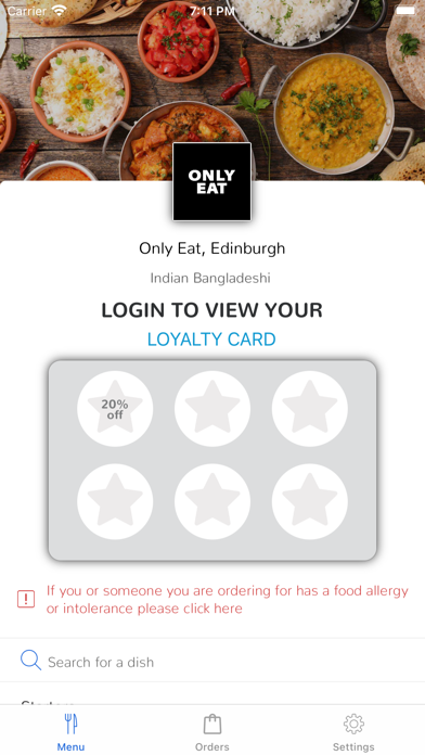 Only Eat, Edinburgh screenshot 1