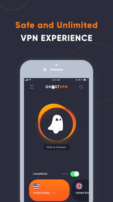 Ghost VPN - Best Secure VPN Screenshot