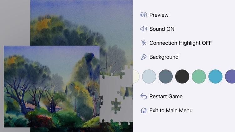 1000 Jigsaw Puzzles Art screenshot-8