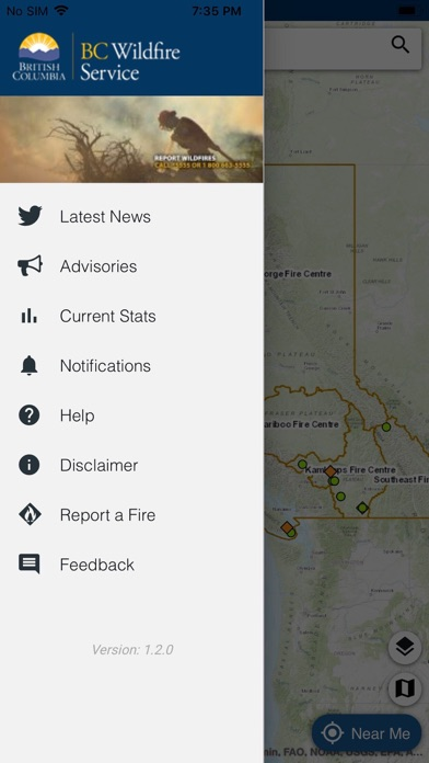 BC Wildfire Service screenshot 3