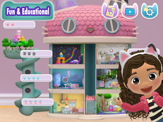 Gabbys Dollhouse:Create & Play screenshot 11