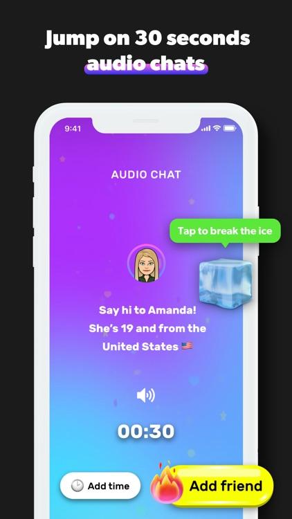 Hush: new Snapchat friends