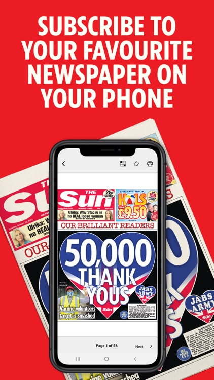 The Sun Digital Newspaper screenshot-0