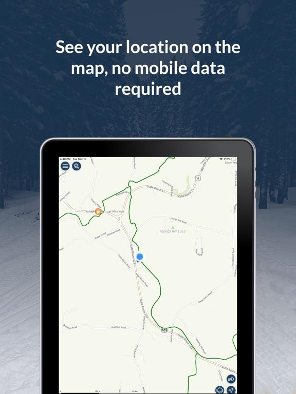 NH Snowmobile Trails 2021 screenshot 7