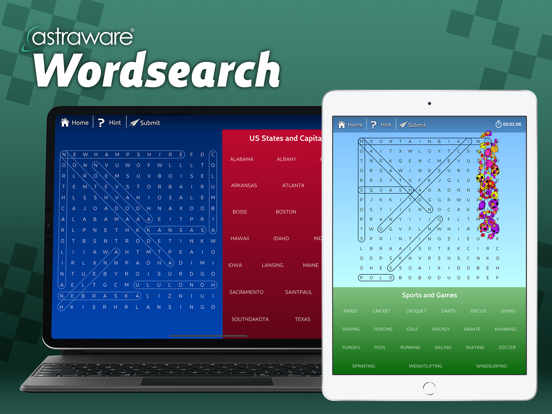 Astraware Wordsearch screenshot