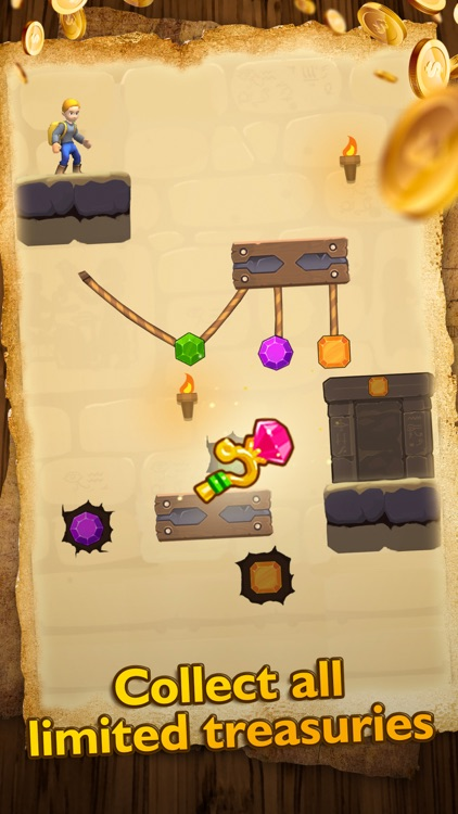 Temple Escape - Rope Puzzle