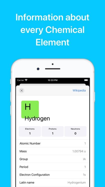 Chemistry & Periodic Table screenshot-3