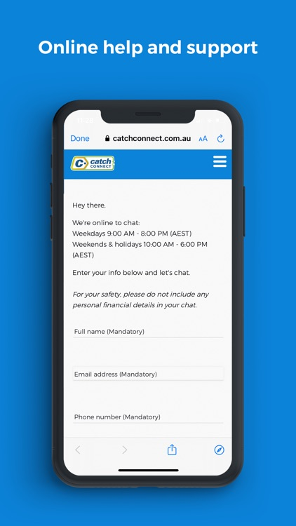 Catch Connect Mobile screenshot-5