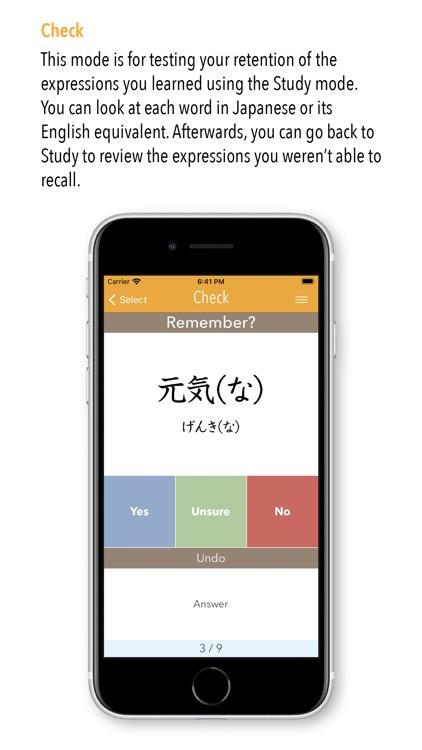 GENKI Vocab for 3rd Ed. screenshot-3