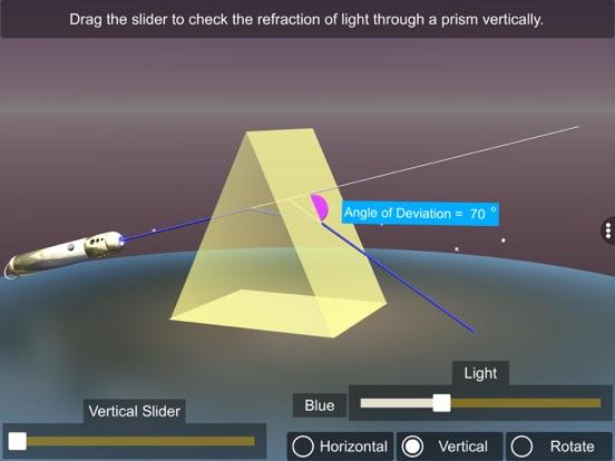 Light Refraction Through Prism screenshot 16