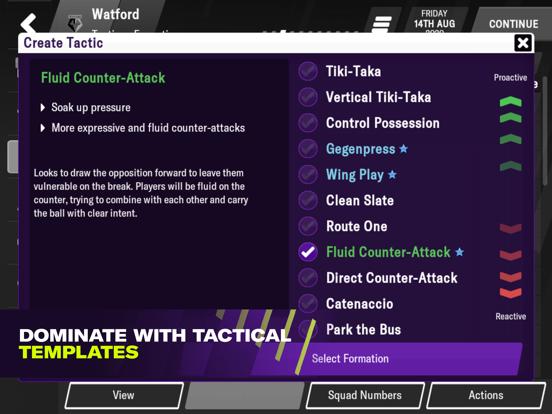 Football Manager 2021 Mobile Screenshots