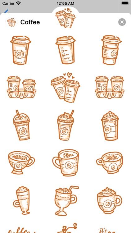 Coffee time! Stickers screenshot-3