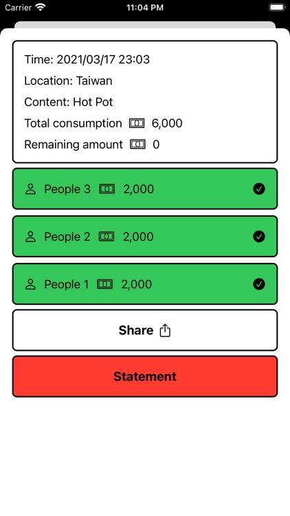 Equal Billing screenshot-3