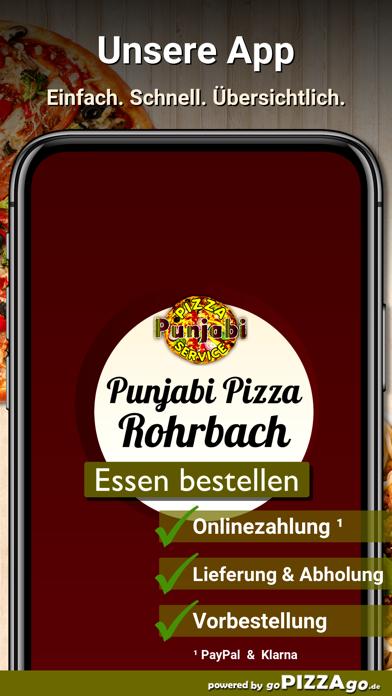 Punjabi Pizza Service Rohrbach screenshot 1