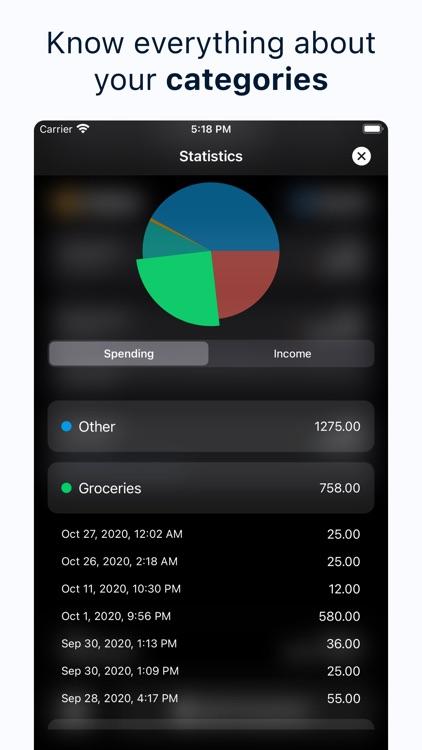 Spendy - Spendings reimagined screenshot-5