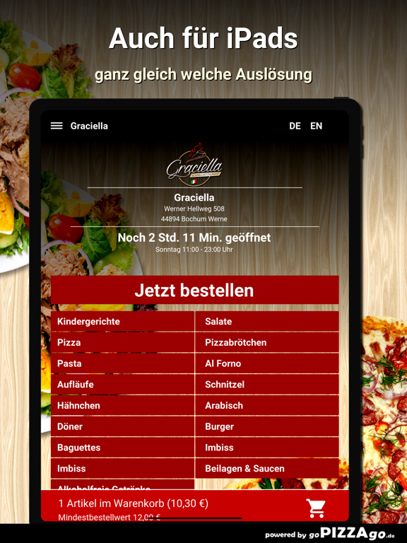 Graciella Bochum Werne screenshot 7
