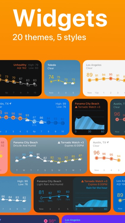 Weather Line – New Widgets screenshot-3