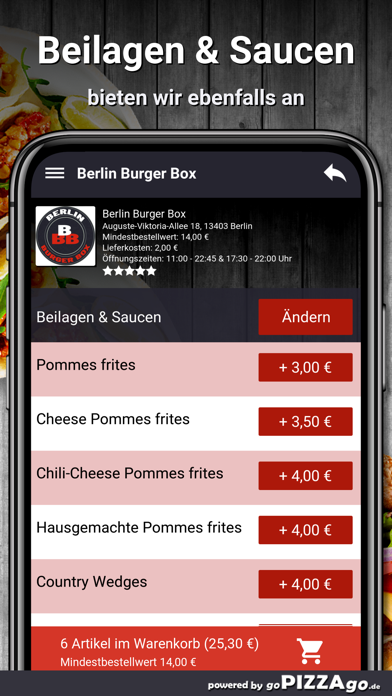 Berlin Burger Box Berlin screenshot 6