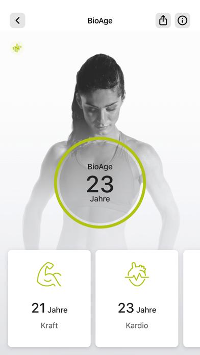 Grobe Fitness AppScreenshot von 6
