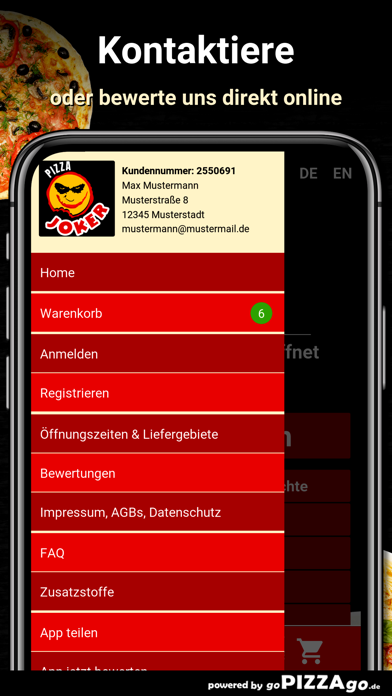 Pizza Joker Rodgau screenshot 3