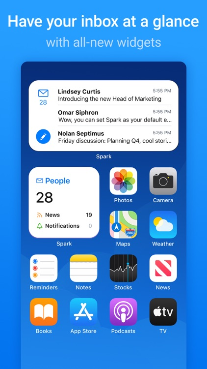 Spark Mail - Email by Readdle screenshot-5