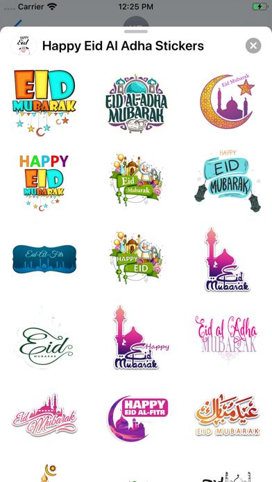 Happy Eid Al Adha Stickers screenshot 2