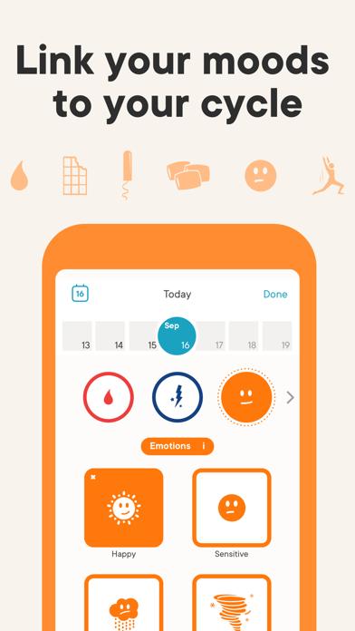 Clue Period & Cycle Tracker Screenshot