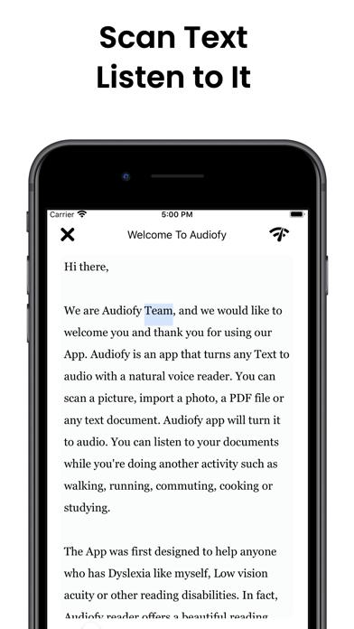 Audiofy -News Book Text Reader screenshot 7