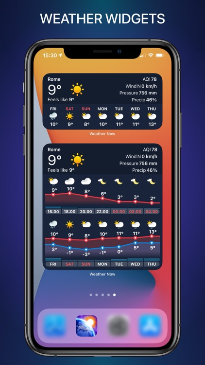 WEATHER NOW daily forecast app screenshot-4
