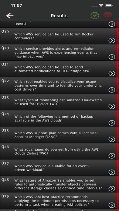 AWS Cloud Practitioner Exam screenshot 5