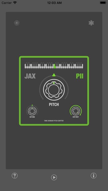 JAX P2 - Pitch Shifter II screenshot-3