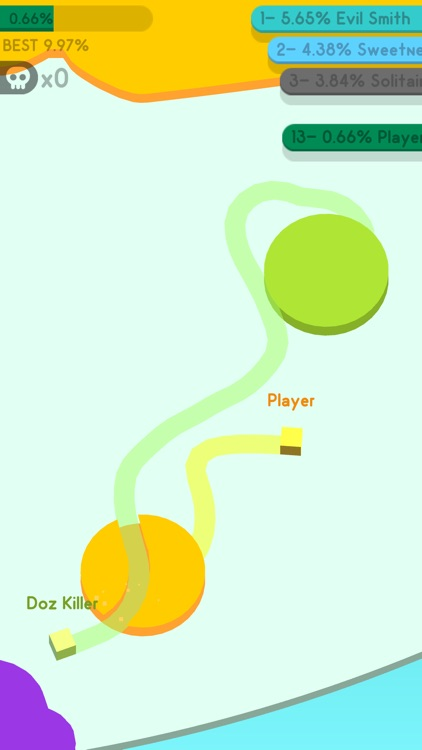 Paper.io 3D: Multiplayer screenshot-4