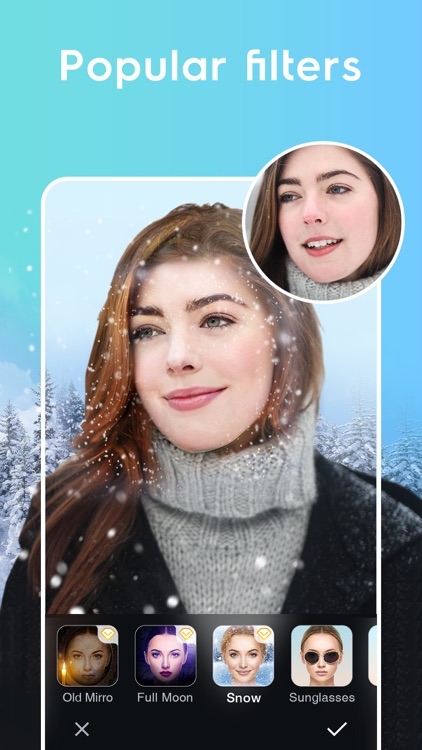 FinoCamera-Face Editor screenshot-6