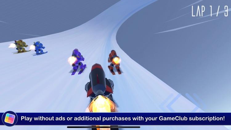 Rocket Ski Racing - GameClub screenshot-4