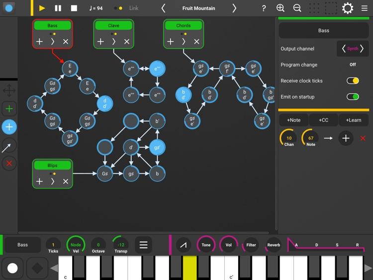 Senode - Graph Sequencer