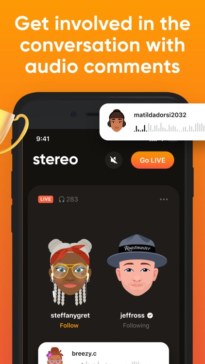 Stereo: Discover Live Podcasts screenshot-4