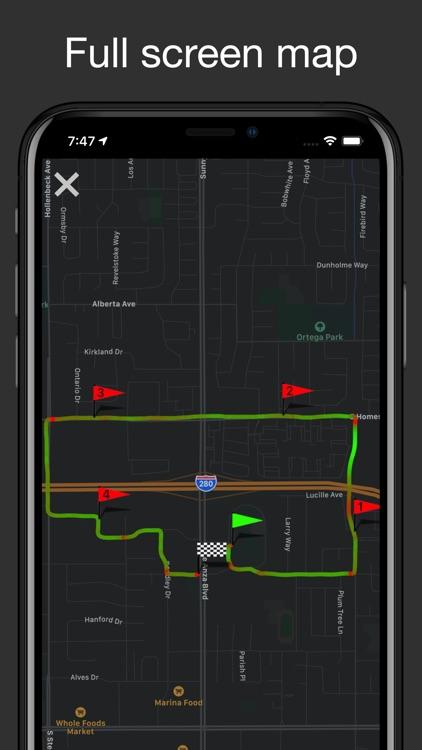Fitmeter Bike - GPS Cycling screenshot-3
