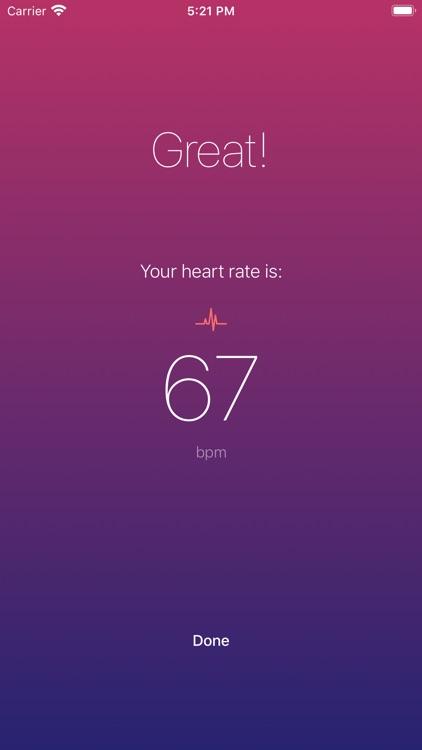 Heart Rate Monitor +++ screenshot-3
