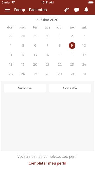 Facop - Pacientes Screenshot