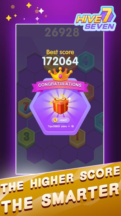 Hive 7:Hexa Puzzle screenshot-4