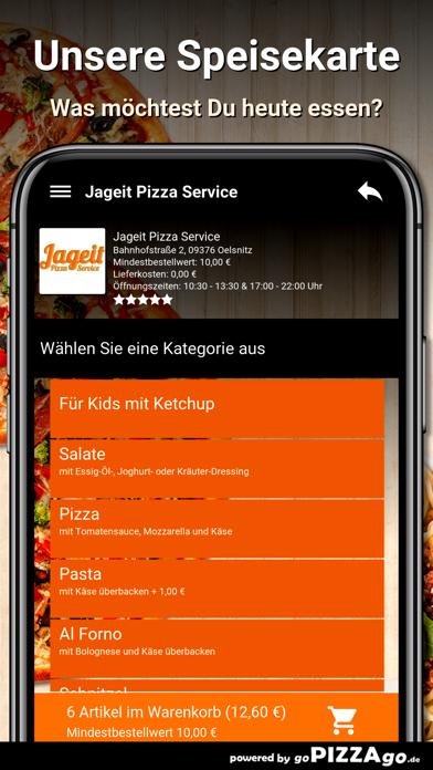Jageit Pizza Service Oelsnitz screenshot 3