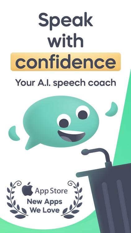 Speeko - Public Speaking Coach screenshot-0