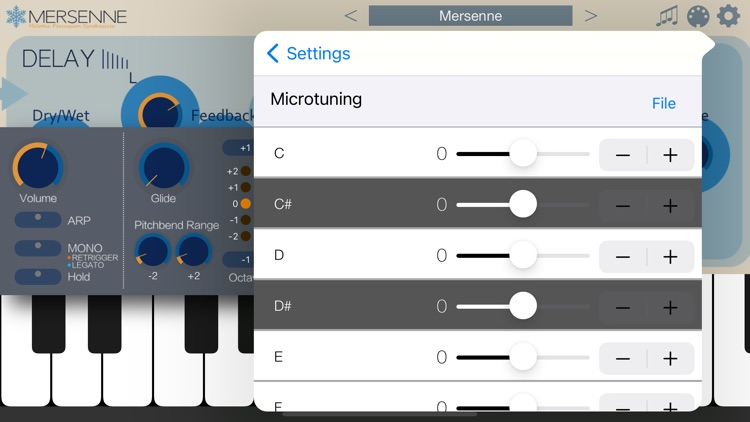 Mersenne - AUv3 Plugin Synth screenshot-5