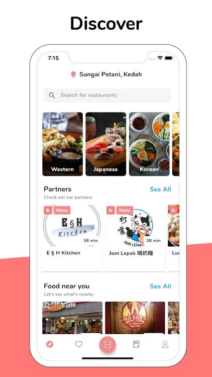 Krave - Food App