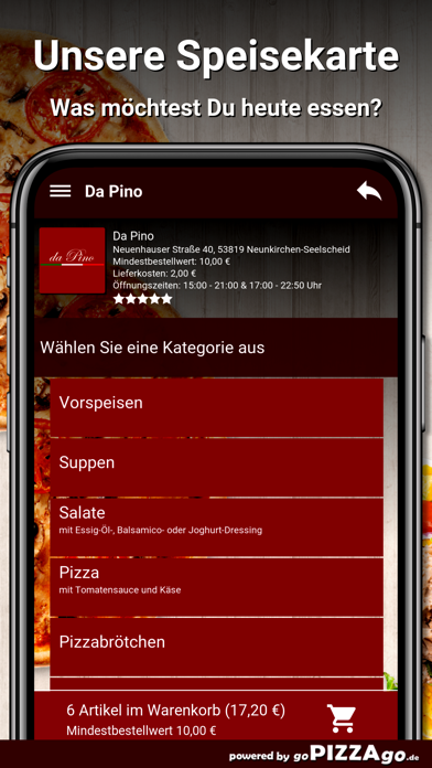 Da Pino Neunkirchen-Seelscheid screenshot 4