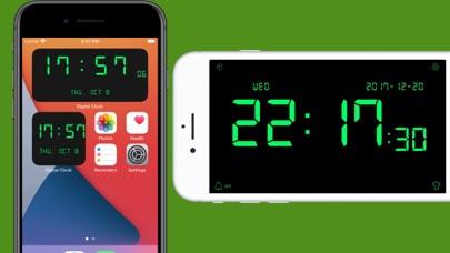 デジタル時計 - LED 目覚まし時計のおすすめ画像1