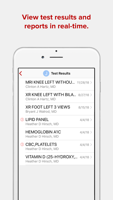 messages.download Ohio State MyHealth software