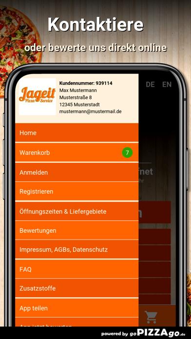Jageit Pizza Service Oelsnitz screenshot 4