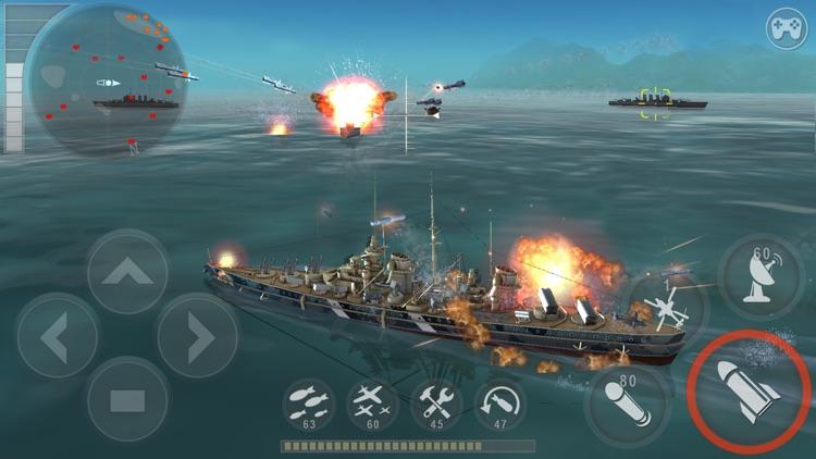 WARSHIP BATTLE:3D World War II screenshot-0
